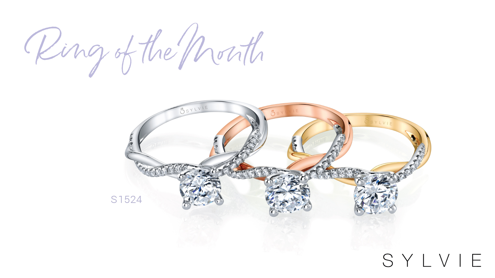 Sylvie's Ring of the Month - Spiral Solitaire Engagement Ring