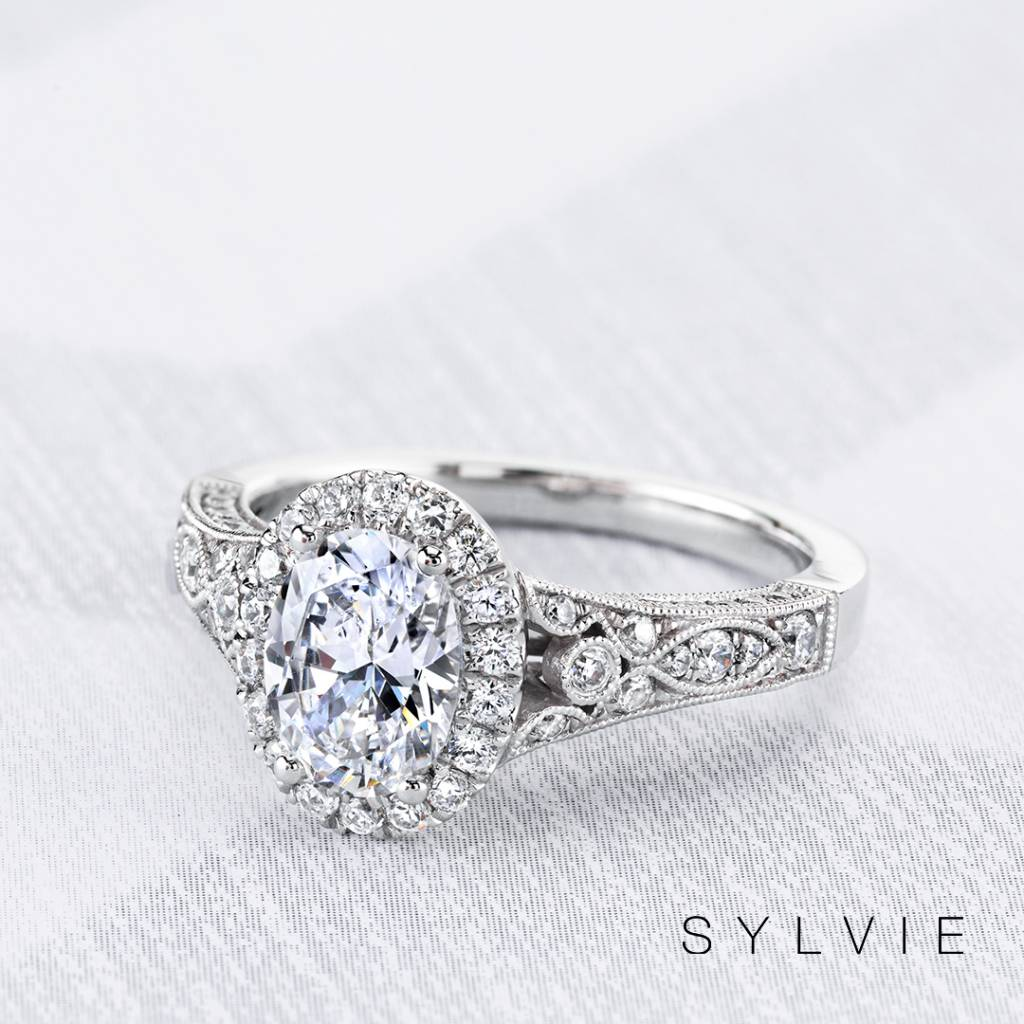 As trends come, go, and cycle back through, vintage inspired engagement  rings will always be in style. Our vintage engagement rings are a mix of  modern and