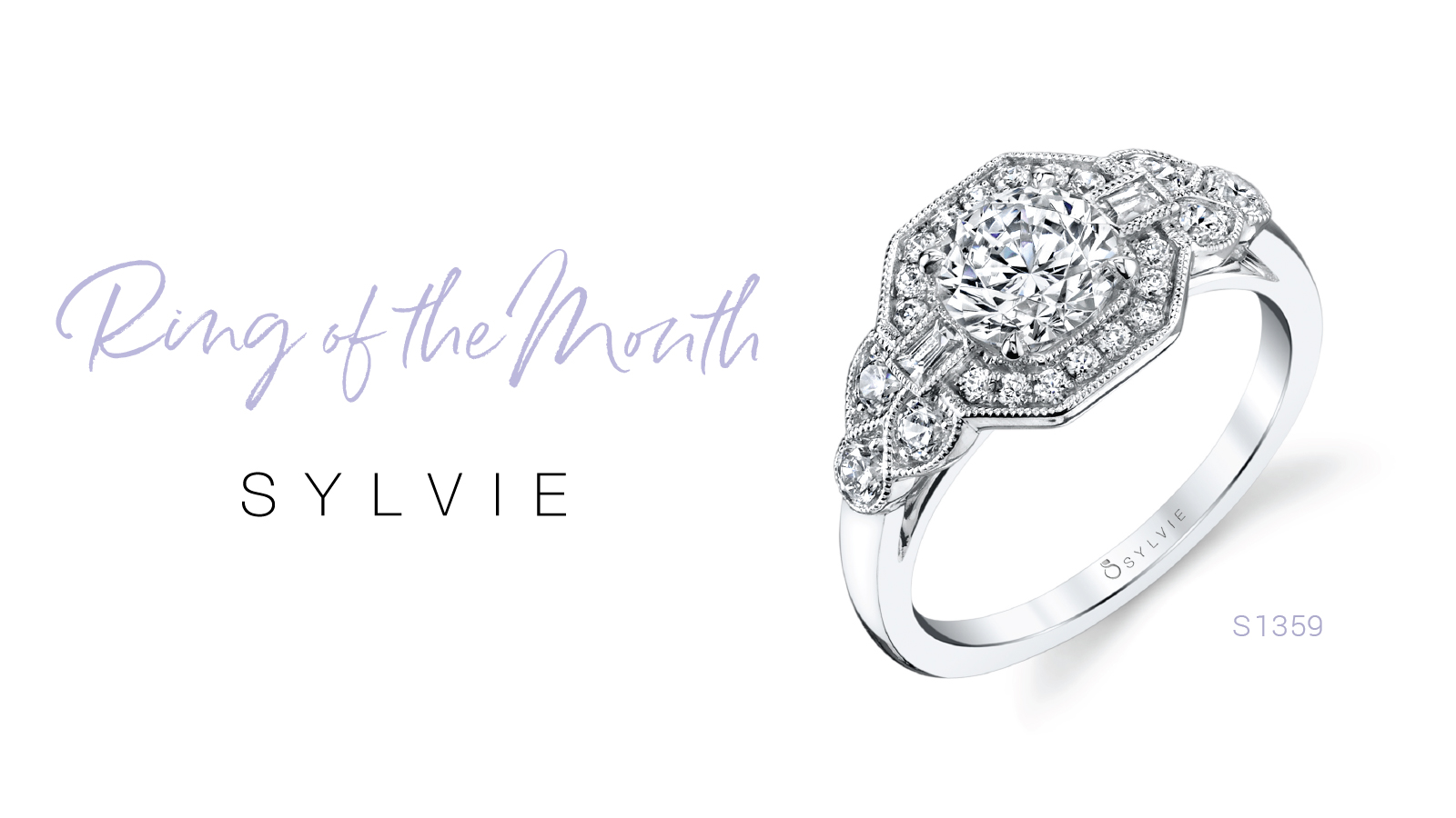 Sylvie's Ring of the Month - Vintage Inspired Engagement Ring