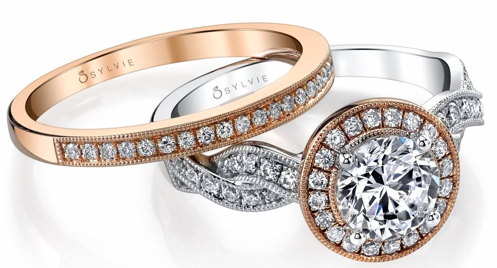 69a8e7660d8 If your bride wants an engagement ring that represents her fun personality