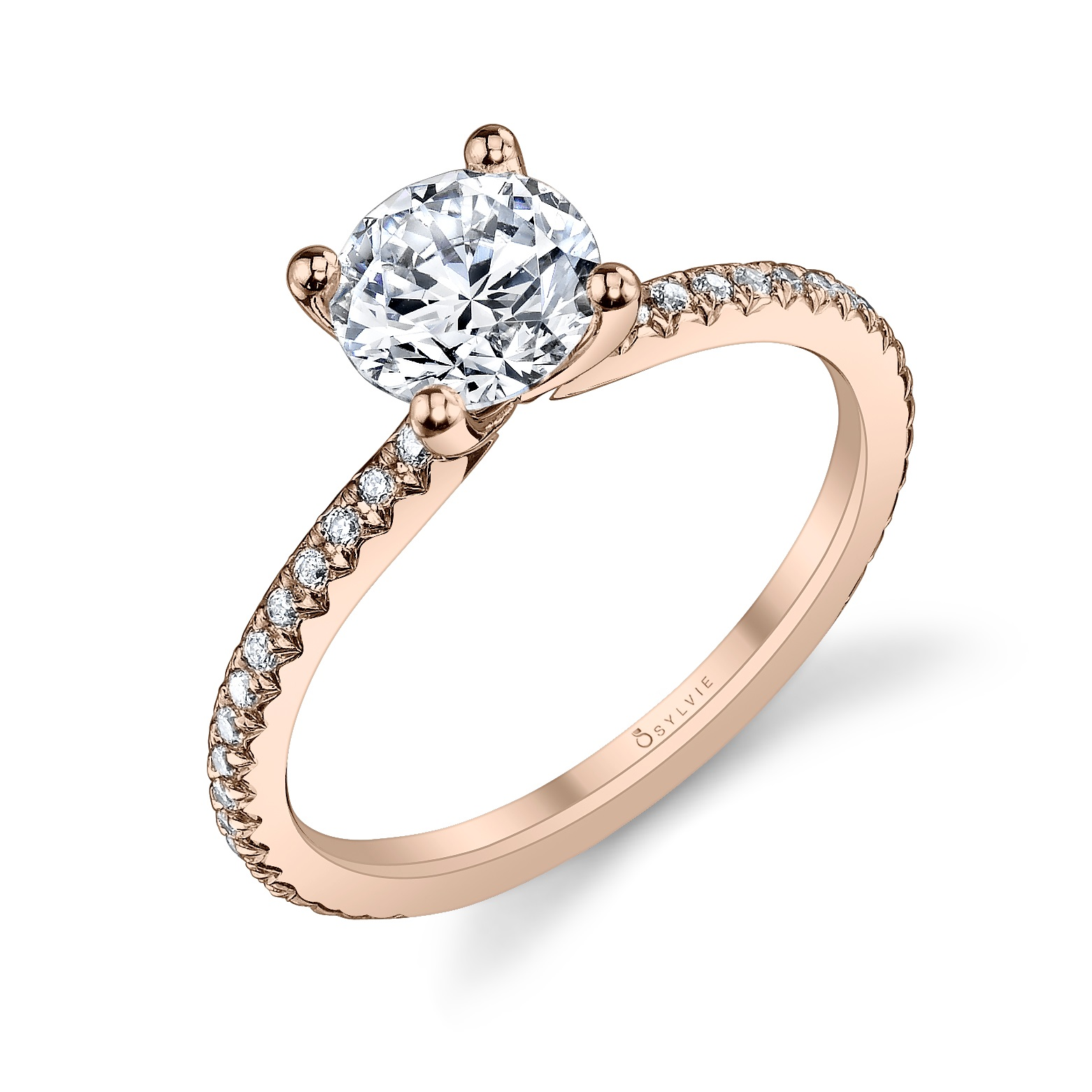 Round Solitaire Engagement Ring_S1093-021A4W10R