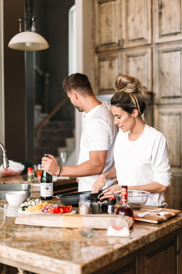 cooking valentine's day date night