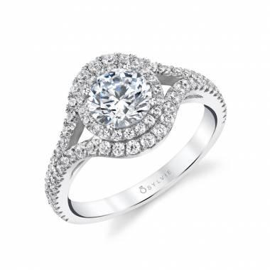 908623cb53d935 Celeste - Spiral Engagement Ring | Sylvie