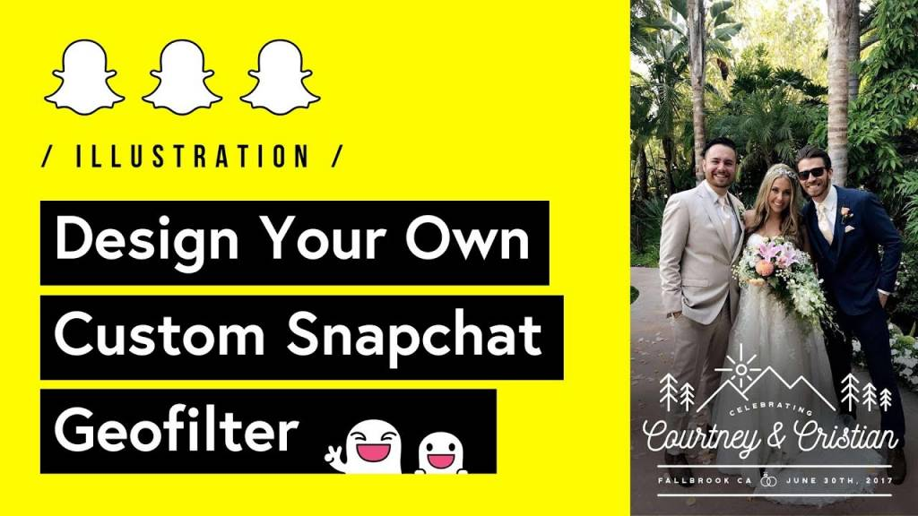 Snapchat Social Media Geofilter